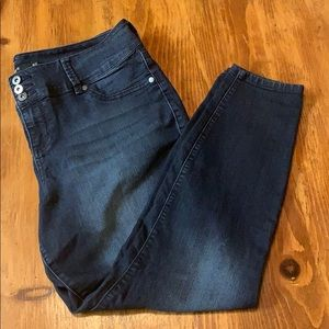 Torrid skinny jean 18R dark wash